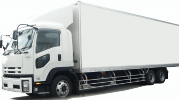 引っ越しの3トントラックで運搬する画像
